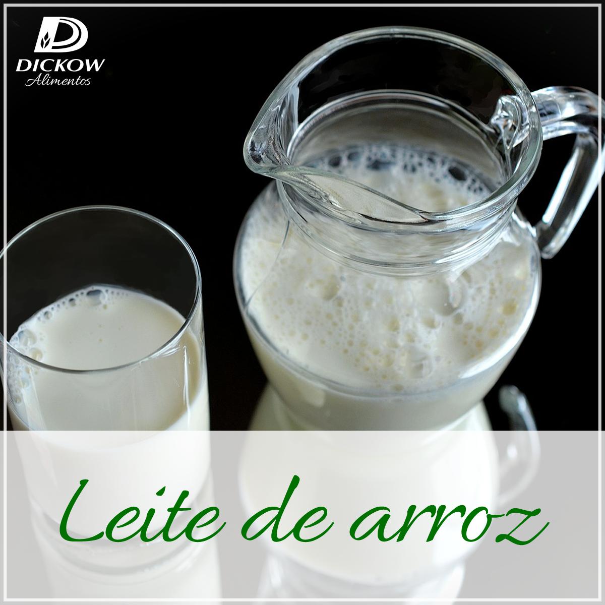 Aprenda a fazer leite de arroz