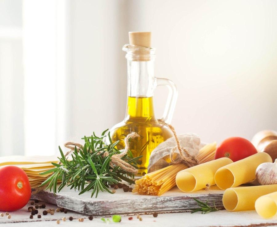 Diferença entre óleo de farelo de arroz e azeite de oliva