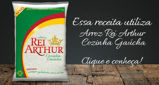 Receita usando Arroz Rei Arthur Cozinha Gaúcha