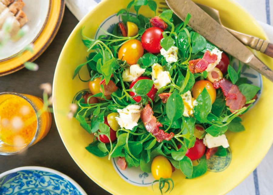 Receita Arroz Rei Arthur Integral Parboilizado: Salada de grãos