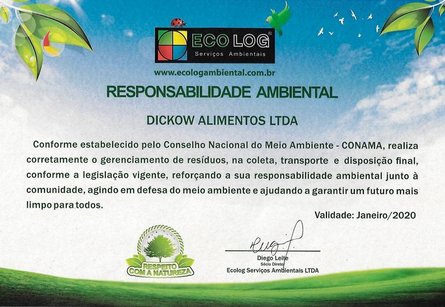 Certificado Responsabilidade Social Dickow Alimentos copy