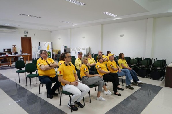 Visita Lions Clube de Agudo